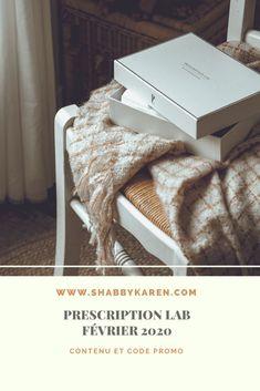 Article sur la box Prescription Lab du mois de février.  IG : @shabbykaren Blog : www.shabbykaren.com  #BEAUTY #BEAUTYBOX #BOXBEAUTE #COSMETICS #BLOG Beauty Box, Prescription, Lab, Labs, Labradors