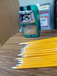 Classroom Friendly sharpener - supposed to be fast and quiet, maybe when my old one breaks