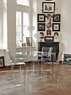 スケスケなのに存在感。クールさが魅力、透明の家具 - NAVER まとめ