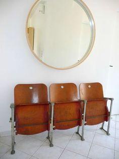 vieux fauteuils de cinéma