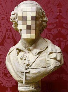 "Banksy's ""Cardinal Sin"", 2011"