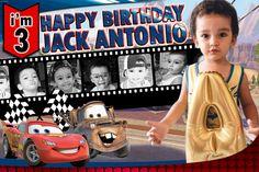 Birthday Design Poster Happy New Ideas Mum Birthday Gift, Race Car Birthday, Disney Cars Birthday, Best Birthday Wishes, Birthday Party For Teens, Happy 2nd Birthday, Cars Birthday Parties, Happy 1st Birthdays, Family Birthdays