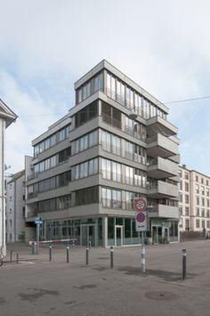 Hohlstrasse Zürich, Peter Märkli Architekt | Bauen Klettern Denken