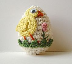 crochet easter egg.....i had several of these when i was a kid.  still have them somewhere??