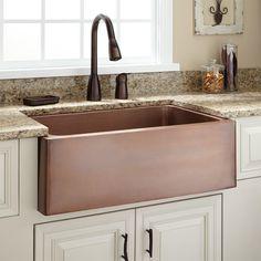 "30"" Kembla Copper Farmhouse Sink"