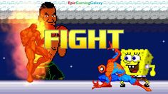 Spider-Man And SpongeBob SquarePants VS Mike Tyson & Human Torch In A MUGEN Match / Battle / Fight This video showcases Gameplay of Spider-Man The Superhero And SpongeBob SquarePants VS Mike Tyson The Boxer And Human Torch The Member Of The Fantastic Four In A MUGEN Match / Battle / Fight