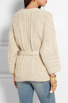 Étoile Isabel Marant   Floyd cable-knit cotton-blend cardigan   NET-A-PORTER.COM