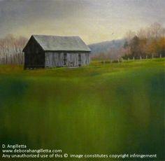 Ironville by Deborah Angilletta Oil ~ 20 x 20