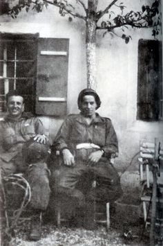 Medic Ralph Spina and Eugene Roe http://i305.photobucket.com/albums/nn220/kenbumcing2/spinaroe.jpg