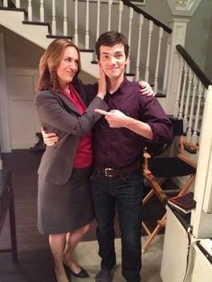 Pretty Little Liars Season 4: Ezra and Mrs. Hastings Together #what?!