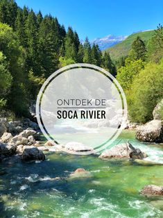 De prachtige Soca Rivier in Slovenië is zeker het bezoeken waard. Met deze tips ontdek je de mooiste plekjes en leukste activiteiten Game Lodge, Paragliding, Beautiful Scenery, Holiday Destinations, Outdoor Activities, Niagara Falls, Places To Visit, Mountains, Travel