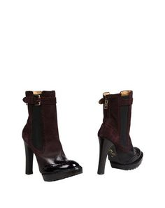 Mcq By Alexander Mcqueen Ankle Boot In Deep Purple Mcq Alexander Mcqueen, Deep Purple, Soft Leather, Booty, Zip, My Style, Heels, Fashion, Heel