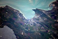 Crimea, vista desde el cosmos