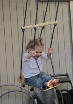 The Musings of a NICU Mommy: Skate board Swing