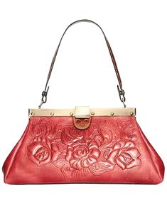 Patricia Nash Tooled Rose Ferrara Satchel designer bags and  handbags  purses  Patricia Nash, 39b1dbb1f4