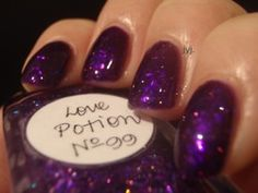 Lynnderella Love Potion No. 99    sandwiched Verity Deep Violet (the best purple jelly ever!!)