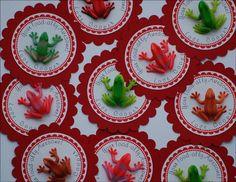 Valentine Frog Cards by purplepozie on Etsy, $12.00