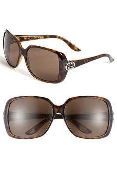 Love these Gucci 59mm Polarized Sunglasses... available at #Nordstrom