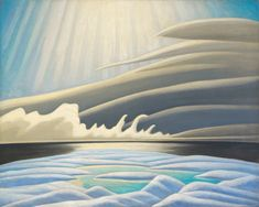 Lawren Harris - Sun Fog & Ice Smith Sound (Arctic Painting IV) 40 x 50 Oil on canvas Canadian Painters, Canadian Artists, New Artists, Group Of Seven Art, Group Of Seven Paintings, Tom Thomson, Printing Labels, Fine Art Gallery, Three Dimensional