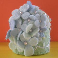 hydrangea pincushion