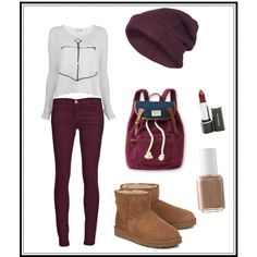 Cute and Casual Fall School Outfit