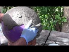 Concrete Leaf Casting -How To - YouTube