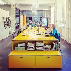 usm modular - desk arrangement