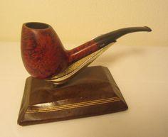 Vintage Bari Opal Bent Fat Egg-Shaped Denmark #8401 Briar Estate Tobacco Pipe