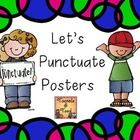 Punctuation can sometimes be a hard sell...so much to remember.  These colorful posters might just be the ticket for punctuation success!  Each pos...