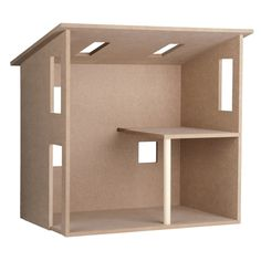 "MiniTown Loft Shell Kit @ miniatures.com -- This is the shell used for all those ""Creatin' Contest"" lofts."