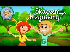 SKACZEMY, BIEGNIEMY – Wygibasy z naszej klasy - piosenka dla dzieci, dziecięce hity! - YouTube