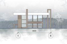The project of bus stop on Behance Interactive Architecture, Revit Architecture, Interior Design Renderings, Interior Design Portfolios, Gothic Architecture Drawing, Shopping Mall Architecture, Bus Stop Design, Bus Shelters, Architectural Floor Plans