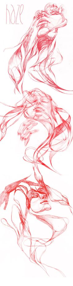HAZE by DASHA PLISKA, via Behance