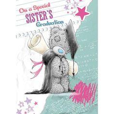 Sister Graduation Me to You Bear Card £1.79