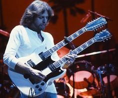 """Don Felder Guitarist Don Felder, who wrote the music for """"Hotel California,"""" was ejected from the Eagles in 2001 in the fallout of a co. Eagles Music, Eagles Band, Guitar Solo, Cool Guitar, Les Paul, Woodstock, History Of The Eagles, Famous Guitars, Glenn Frey"""