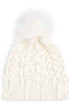 save off 12967 d74e5 Cashmere Beanie Under  35 with Pom Pom Cashmere Beanie, Knit Beanie, Fur  Pom Pom