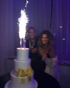 Welcome To Nollywood Gist: Khloe Kardashian celebrated her 30th yesterday with her beau rapper French Montana