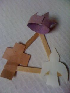 Holy Trinity Craft--great for preschoolers and kindergartners!