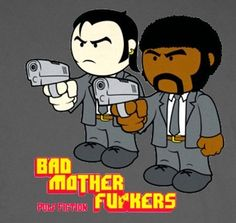 Pulp Fiction Bad Mother Fuckers T-Shirt « Daily T-Shirts .. XL