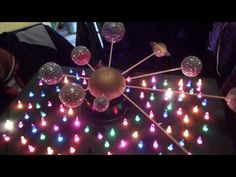 maqueta sistema solar facil (planetario) - YouTube