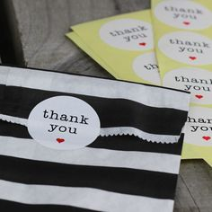 'Thank You' Red Heart Stickers Seal Labels (48pcs) $6.90 (Contains 48 self adhesive labels) from My Wedding Store