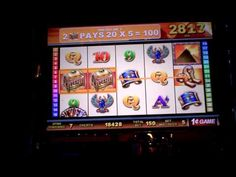 WMS Royal Series slot bonus win on Egypt.