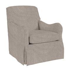 Elsie Swivel Glider Club Chair
