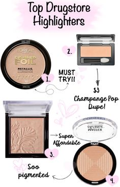 Top Drugstore Highlighters