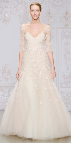 Bridal Fashion Week - Fall 2015:  Monique Lhuillier #InStyle
