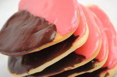 Black and Pink Cookies - Something Swanky