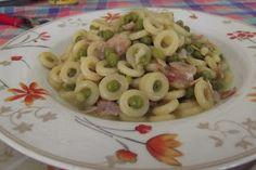 Gli assaggi di Tonia: Anellini siciliani in bianco con  i Piselli
