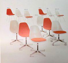 Vintage Vitra authentic #Eames fiberglass chairs @vitra @vitrahaus