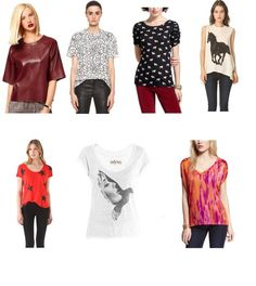 Can tees be high fashion? We say yes!