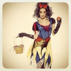 Snow Fright Costume.. From our Twisted Fairy Tales range. Make great Halloween  fancy dress idea.